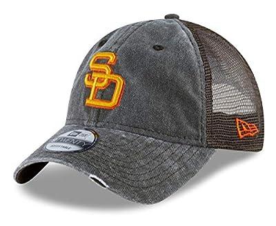 New Era San Diego Padres MLB 9Twenty Cooperstown Tonal Washed 2 Meshback Hat