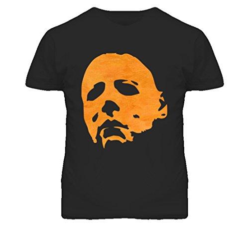 South Beach Boys' Michael Myers Mask Halloween T-Shirt SM - Kids Myer Clothing