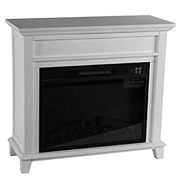 CremeBruluee La quema de llama efecto estufa eléctrica de madera Inicio Gabinete Permanente del ventilador del calentador: Amazon.es: Bricolaje y ...