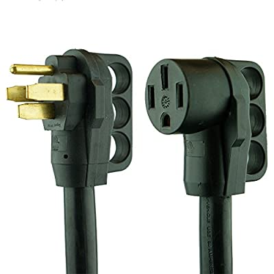 NU-CORD 94561E Feet 50-Amp Rv Extension Cord