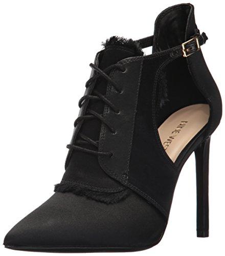 Nine West Women's Takeashot Fabric Ankle Boot Black/Black Q49Gj