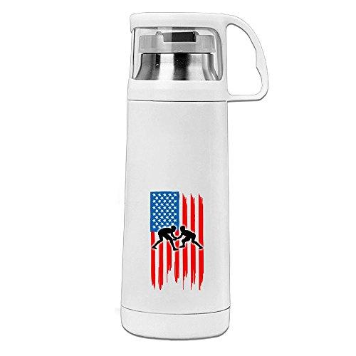 VHGJKGIN American Flag Wrestling Good Looking And Suitable Mug by VHGJKGIN