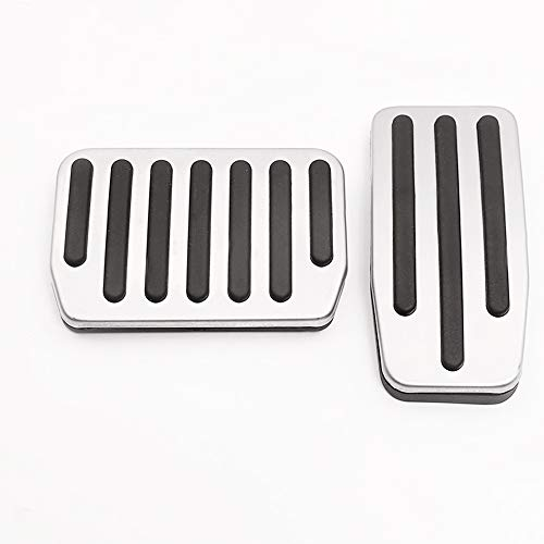 erformance Pedal Set, Auto Aluminum Foot Pedal Pads Accessories Pedal Covers for Tesla Model 3 ()