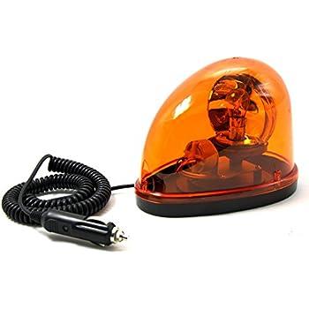 Encell Amber Halogen Bulb Emergency Strobe Beacon Warning Flash Light