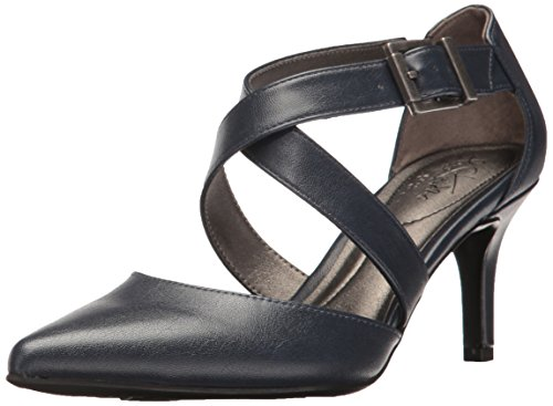 Soft Systems - LifeStride Women's See This Dress Pump, Lux Navy, 7 M US
