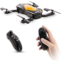 Goolsky YIDAJIA D69 Foldable RC Quadcopter Drone with 2.0MP Camera,Wifi FPV, Altitude Hold,Gravity Sense Control and One Key Return Home
