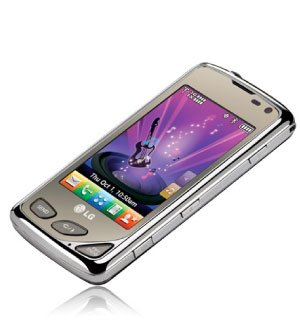 LG Chocolate Touch VX8575 3G CDMA GPS Phone ()