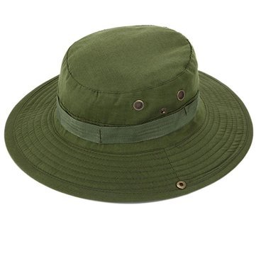 ed3091e2 Generic Newly imported Camouflage Jungle Cap Hat Camping Fishing Cap -Army  Green