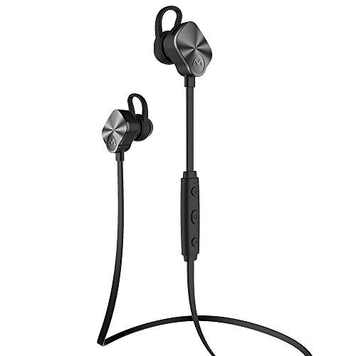 Mpow Bluetooth Kopfhörer Bluetooth 4.1 Sport Ohrhörer Stereo In Ear Ohrhörer mit Noise Cancelling,8-Stunden-Spielzeit, IPX4 spritzwasserfest für Joggen, Workout, Fitness, Headset für iPhone 7 6S, 6 Plus, Samsung Galaxy S6 Edge