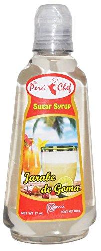 Jarabe de Goma - Sugar Syrup Peru Chef 17oz 5 Pack by Peru Chef