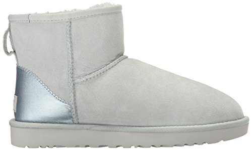 Ugg Women's Classic Mini Ii Metallic Women's Pink Booties Iceberg RYoHblT