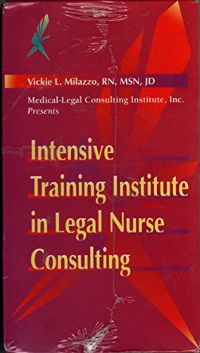 Intensive training institute in legal nurse consulting 9 VHS TAPES in USA