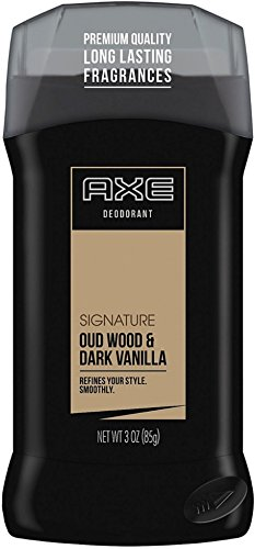 Axe Deodorant Stick, Signature Oud Wood & Dark Vanilla 3 oz (Pack of 10) by AXE