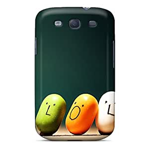BayyKck Galaxy S3 Well-designed Hard Case Cover Happy Pills Protector