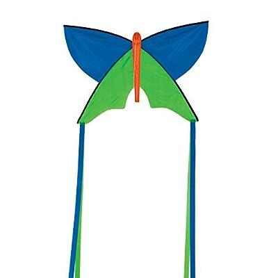 In the Breeze Butterfly Silhouette Kite, Blue : Garden & Outdoor