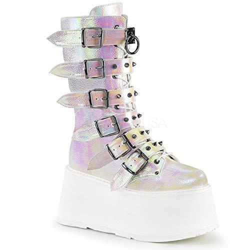 Demonia Womens DAMNED-225/PRLIRIVL Boots