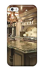 Case Cover Traditional Kitchen With Marble Countertops/ Fashionable Case For Iphone 5/5s