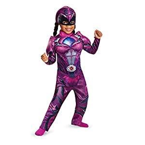 Disguise Power Ranger Movie Deluxe Costume Pink 2t Sp