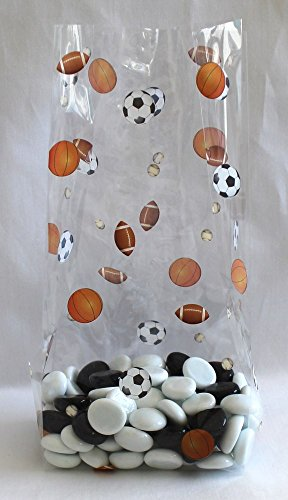Sports Mix Soccer Basketball Football Cello Bags 4