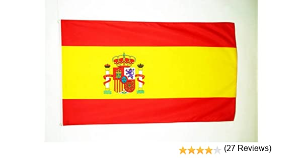 AZ FLAG Bandera de ESPAÑA 90x60cm - Bandera ESPAÑOLA 60 x 90 cm ...