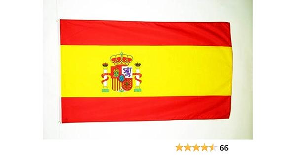 AZ FLAG Bandera de ESPAÑA 150x90cm - Bandera ESPAÑOLA 90 x 150 cm: Amazon.es: Jardín