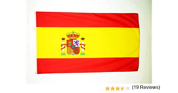 AZ FLAG Bandera de ESPAÑA 250x150cm - Gran Bandera ESPAÑOLA 150 x ...