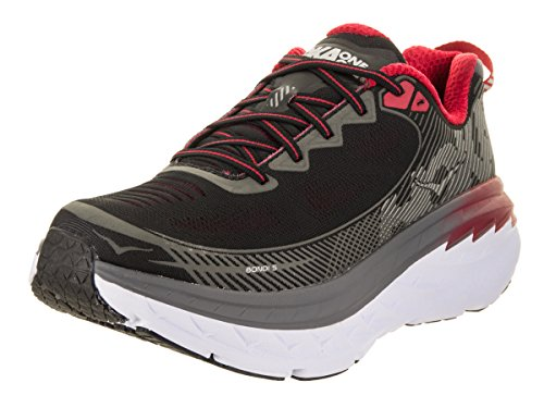 Hoka One One Mens Bondi 5 Running Shoe,  Grey - Men's size 13 - Men 5 Size