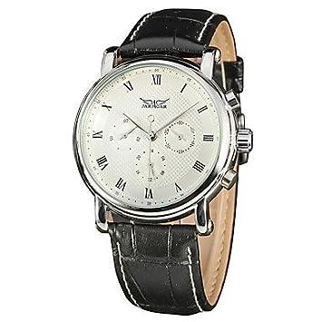 XKC-watches Relojes para Hombres, Hombre Reloj de Vestir Reloj de Moda Chino Cuerda