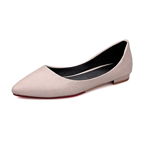 Head Women's Casual Light Shallow Pink Shoes Mouth Round Flat r6rSdEx