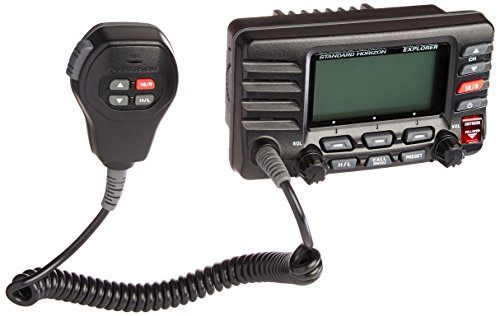 Eclipse 2 Way Radio - Standard Horizon GX1600B Standard Explorer VHF Marine Radio - Black