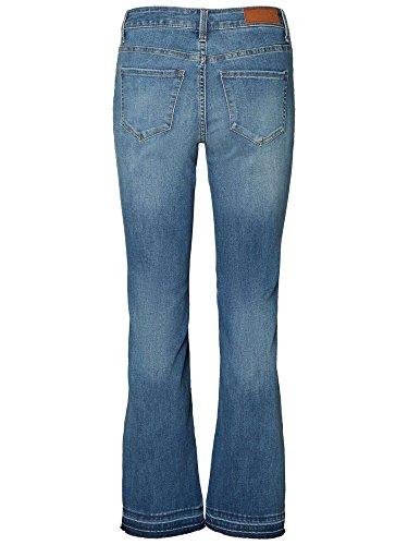 Mujer Vero Tejano Moda Pantalones Vaqueros nUCp6Bxwqp