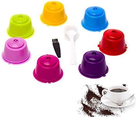 Umiwe Filtros Cápsulas de Café Puede Rellenables 7 Pcs Recargable ...