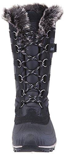 Kamik Damen Snowvalley Boot Schwarzgrau