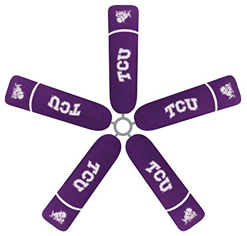 Fan Blade Designs Texas Christian University Ceiling Fan Blade Covers by Fan Blade Designs