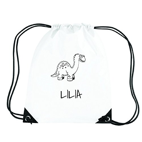 JOllipets LILIA Turnbeutel Sport Tasche PGYM5630 Design: Dinosaurier Dino