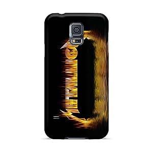 AlainTanielian Samsung Galaxy S5 Scratch Protection Mobile Case Custom Attractive Metallica Skin [hJQ6617VITc]