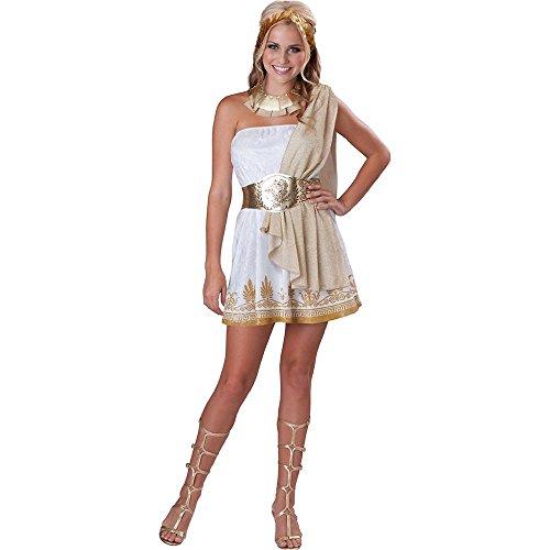 Teen Costumes Goddess Glitzy (Glitzy Goddess Teen/Junior Costume - Teen)