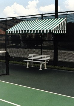 Amazon Com Lee Bocce Tennis Court Polyurethane Court Bench