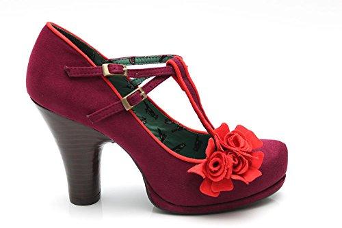 Ruby Shoo Uma - Zapatos de vestir para mujer púrpura morado