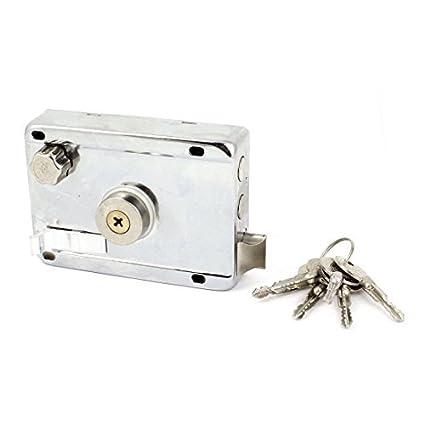 Cruz llave de la puerta de la culata mano derecha Cerrojo Lamer Bloquear teclas Set