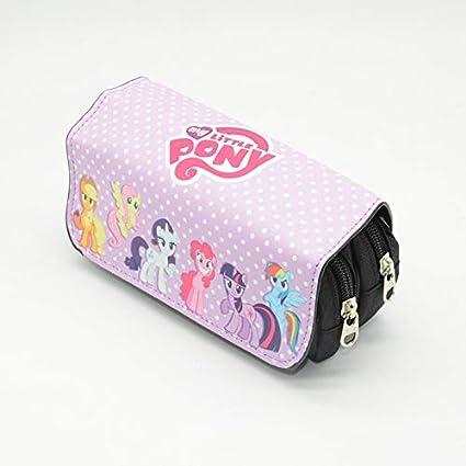 ASCZFAS bolsa de lápiz Unicorn Lápiz Estuche Lápiz Estuche Kawaii Lapiz Unicornio Pennenzak Estuche Lapices Etui Cartoon School Bag para niños H: Amazon.es: Oficina y papelería