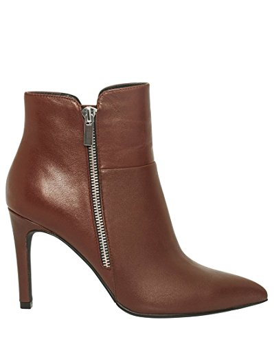 Ankle Boot Bordeaux LE Pointy CH Toe Women's TEAU Leather crTTYUw0n