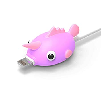 Protector Cable USB Cargador Movil Animales para iPhone y ...