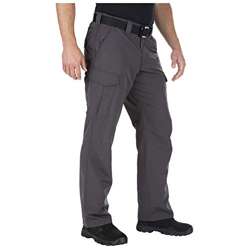 5.11 Tactical Men's Fast-Tac Cargo Pants, Reinforced Front Utility Pocket Edges, Style 74439
