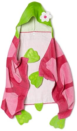 Turtle Children's Hooded Bath Towel