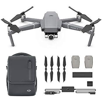 1f43498d19b Amazon.com: DJI Mavic 2 Zoom Drone Quadcopter with Fly More Kit ...