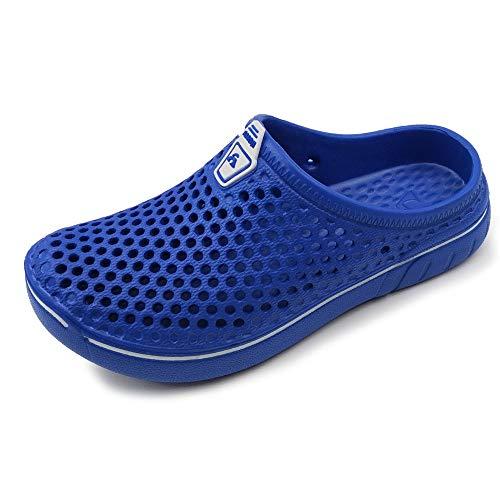 AMOJI Unisex-Kinder Clogs Pantoletten Schuhe Sandalen Hausschuhe KID161