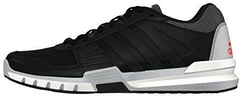 adidas Essential Star .2, Zapatillas de Deporte para Hombre Negro (Negbas / Negbas / Rojsol)
