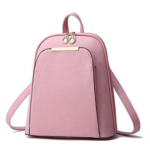 Mefly Rosa De Viaje Moda Invierno Pink