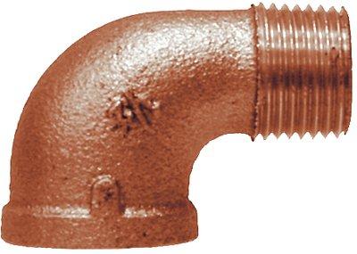Midland 44-164 Bronze 90° Street Elbow, 3/4'' Size